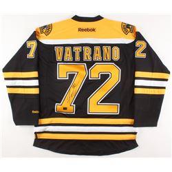 Frank Vatrano Signed Boston Bruins Jersey (Vatrano COA)
