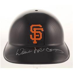 Willie McCovey Signed San Francisco Giants Full-Size Batting Helmet (Beckett COA)