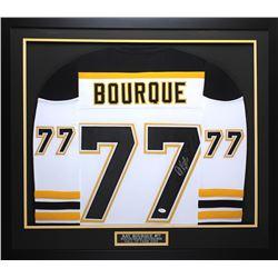 Ray Bourque Signed 32x37 Custom Framed Jersey (JSA COA)