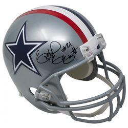 Ezekiel Elliott Signed Dallas Cowboys Throwback Full-Size Helmet (Beckett COA)