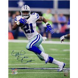 Ezekiel Elliott Signed Dallas Cowboys 16x20 Photo (Beckett COA)