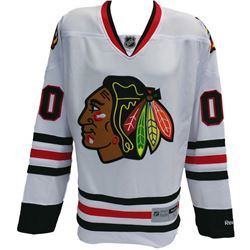 """Chevy Chase Chicago Blackhawks """"Christmas Vacation"""" Reebok Jersey"""