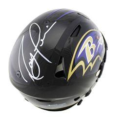 Ray Lewis Signed Baltimore Ravens Full-Size Authentic On-Field SpeedFlex Helmet (Radtke COA)