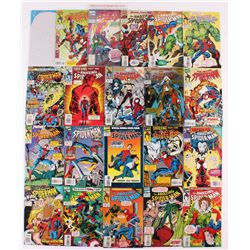 """Lot of (21) 1993-1995 Marvel """"Amazing Spider-Man"""" 1st Series Comic Books with Issues # 27 Annual, 38"""