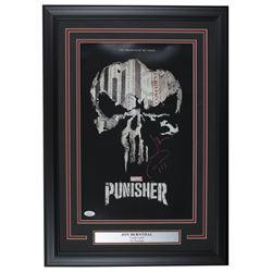"Jon Bernthal Signed ""The Punisher"" 17x24 Custom Framed Photo Display (JSA COA)"