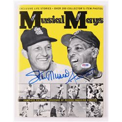 Stan Musial  Willie Mays Signed 1963 Musial-Mays Magazine  (PSA Hologram)