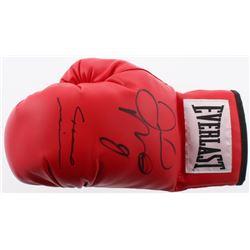 Floyd Mayweather  Marcos Maidana Signed Everlast Boxing Glove (JSA COA)