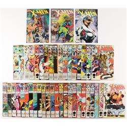 Lot of (44) 1981-1997 X-Men Marvel Comic Books