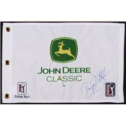 Bryson Dechambeau Signed John Deere Classic PGA Golf Pin Flag (JSA COA)