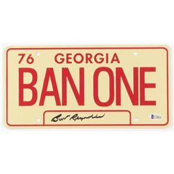 "Burt Reynolds Signed ""Smokey and the Bandit"" License Plate (Beckett COA)"