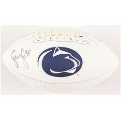 Sean Lee Signed Penn State Nittany Lions Logo Football (JSA COA)