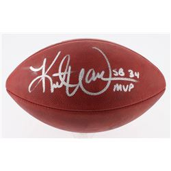 "Kurt Warner Signed Official Super Bowl XXXIV Game Ball Inscribed ""SB 34 MVP"" (Radtke COA  Warner Hol"
