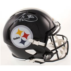 Hines Ward Signed Pittsburgh Steelers Full-Size Speed Helmet (Beckett COA)