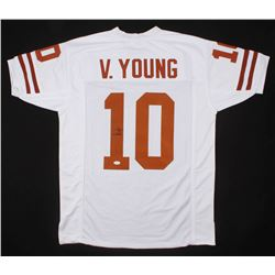 Vince Young Signed Jersey (JSA COA)