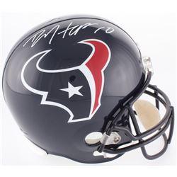 DeAndre Hopkins Signed Houston Texans Full-Size Helmet (JSA COA)