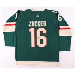 Jason Zucker Signed Minnesota Wild Jersey (Beckett COA)