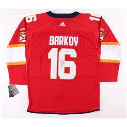new style 67a72 1052f Aleksander Barkov Jr. Signed Florida Panthers Jersey ...
