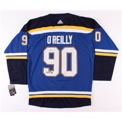 Ryan O'Reilly Signed 2019 Stanley Cup Finals St. Louis Blues Jersey (Beckett COA)
