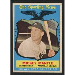 1959 Topps #564 Mickey Mantle All-Star