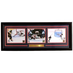 Braden Holtby 2018 Stanley Cup Washington Capitals 16x39 Custom Framed Photo Display