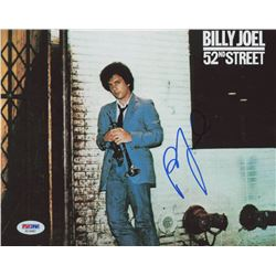 "Billy Joel Signed ""52nd Street"" 8x10 Photo (PSA Hologram)"