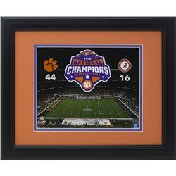 Clemson Tigers 14x17 Custom Framed Photo Display