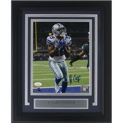 Amari Cooper Signed Dallas Cowboys 14x17 Custom Framed Photo Display (JSA COA)