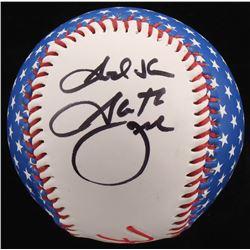 """Garth Brooks Signed Baseball Inscribed """"God Bless"""" (PSA COA)"""