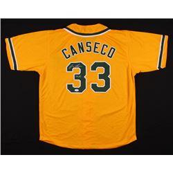 "Jose Canseco Signed Jersey Inscribed ""40 / 40"" (JSA Hologram)"