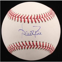 Aaron Boone Signed OML Baseball (PSA COA)
