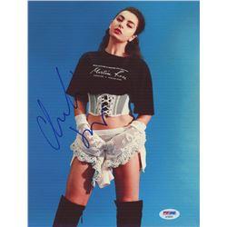 Charli XCX Signed 8x10 Photo (PSA COA)
