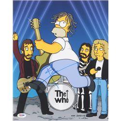 "Pete Townshend Signed ""The Simpsons"" 11x14 Photo (PSA COA)"