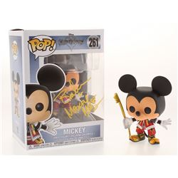 "Bret Iwan Signed  Inscribed Mickey Mouse ""Kingdom Hearts"" Disney #261 Funko Pop! Vinyl Figure (JSA C"
