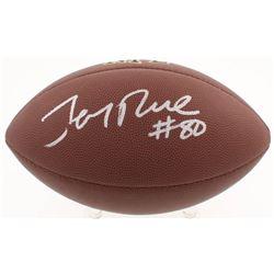 Jerry Rice Signed NFL Football (Beckett COA)