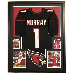 Kyler Murray Signed 34x42 Custom Framed Jersey (Beckett COA)