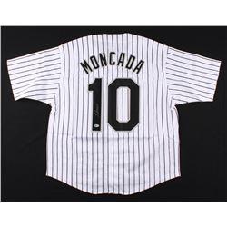Yoan Moncada Signed Chicago White Sox Jersey (Beckett COA)