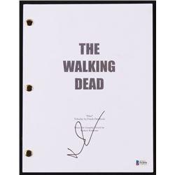 "Norman Reedus Signed ""The Walking Dead - Pilot"" Movie Script (Beckett COA)"