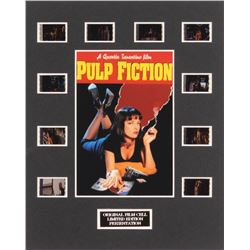"""""""Pulp Fiction"""" LE 8x10 Custom Matted Original Film / Movie Cell Display"""