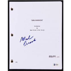 "Mel Brooks Signed ""Young Frankenstein"" Movie Script (Beckett COA)"