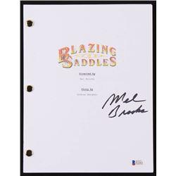 "Mel Brooks Signed ""Blazzing Saddles"" Movie Script (Beckett COA)"