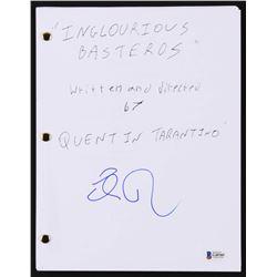 "Eli Roth Signed ""Inglourious Basterds"" Movie Script (Beckett COA)"