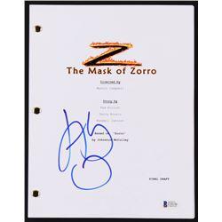 "Antonio Banderas Signed ""The Mask of Zorro"" Movie Script (Beckett COA)"