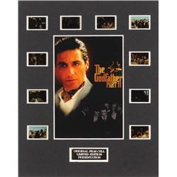 """""""The Godfather Part II"""" LE 8x10 Custom Matted Original Film / Movie Cell Display"""
