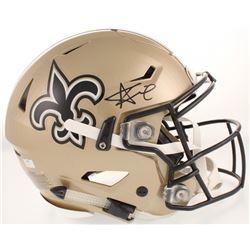 Alvin Kamara Signed New Orleans Saints Full-Size Authentic On-Field Flex Speed Helmet (Radtke COA)
