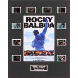 """Rocky Balboa"" LE 8x10 Custom Matted Original Film / Movie Cell Display"