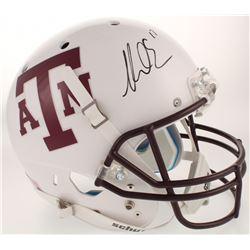 Mike Evans Signed Texas AM Aggies Full-Size Helmet (Radtke COA)