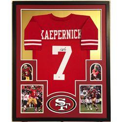 Colin Kaepernick Signed 34x42 Custom Framed Jersey (PSA Hologram)