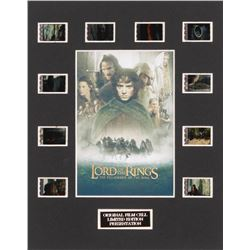 """""""The Lord of the Rings: The Fellowship of the Ring"""" LE 8x10 Custom Matted Original Film / Movie Cell"""