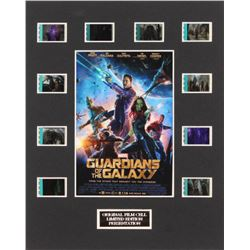 """""""Guardians of the Galaxy"""" LE 8x10 Custom Matted Original Film / Movie Cell Display"""