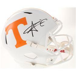 Alvin Kamara Signed Tennessee Volunteers Full-Size Speed Helmet (Radtke COA)